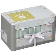Baby Art Úložný box My Little Treasures Grey