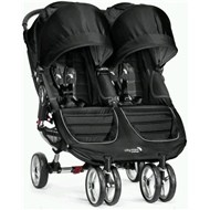 Baby Jogger City Mini Double -  Black / Gray