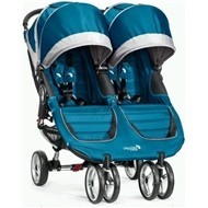 Baby Jogger City Mini Double -  Teal / Gray