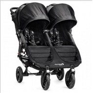 Baby Jogger City Mini GT Double -  black/black