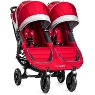Baby Jogger City Mini GT Double -  crimson/gray