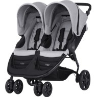 Britax B-Agile Double -  Steel Grey