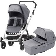Britax Go Next 2 -  Grey melange / white