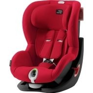 Britax Romer Autosedačka KING II LS BLACK EDITION  -  Fire Red
