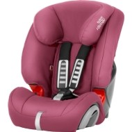Britax Evolva Plus 123   - Wine rose