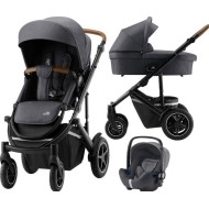 Britax Romer 3v1 kočárek Smile III -  Midnight grey