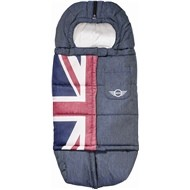 Easywalker MINI fusak Hi Performance  - Union Jack Denim