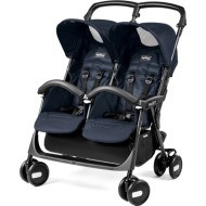 Peg Perego Aria Twin Shopper -  Mod Navy