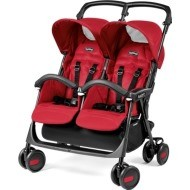 Peg Perego Aria Twin Shopper -  Mod Red
