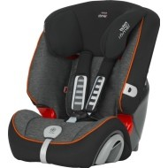 Britax Evolva Plus 123   -  Black marble