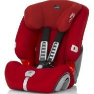 Britax Evolva Plus 123   - Flame red