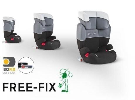 autoseda ka cybex free fix 2017. Black Bedroom Furniture Sets. Home Design Ideas